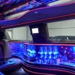 Innenausstattung des Lincoln Town Car vom Chauffeurservice Dortmund