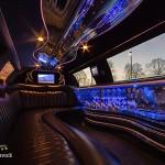 Innenausstattung Lincoln Town Car Chauffeurservice Dortmund