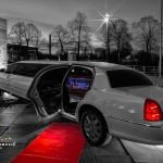 Das Lincoln Town Car des Chauffeurservice Dortmund