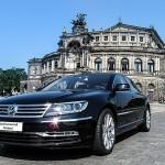 Der VW Phaeton des Chauffeurservice Dortmund